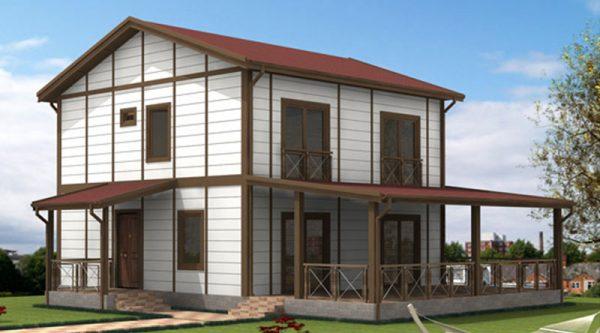 Tip 12 Prefabrik Villa Modeli