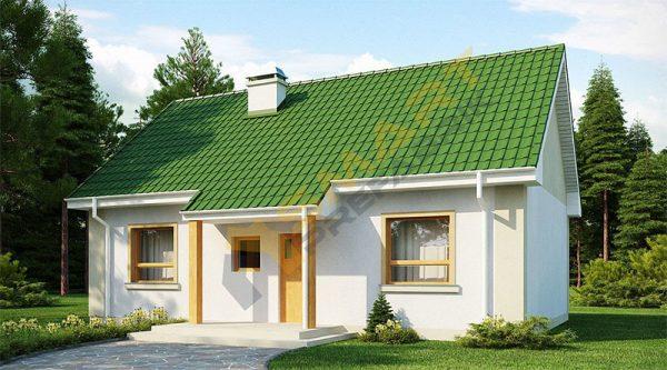 Tip 16 Modern Tek Katlı Modern Çelik Ev