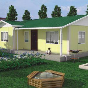 78 m2 ekonomik ev