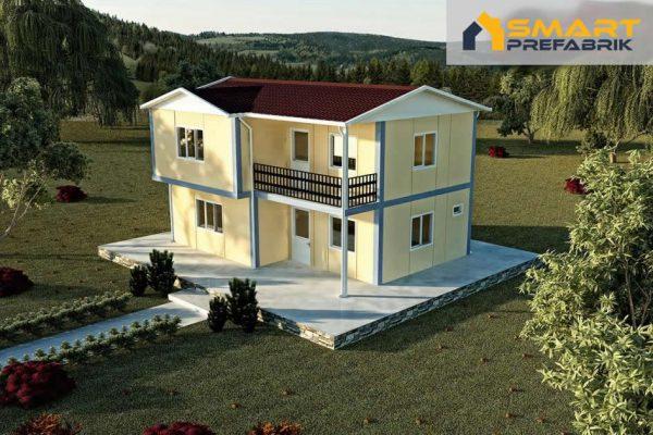 Model 31 Eko Dubleks 105 m2 Prefabrik Ev